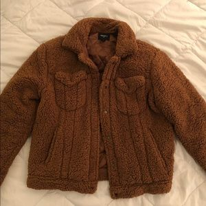 BEAUTIFUL FAUX SHEARLING FOREVER21 JACKET